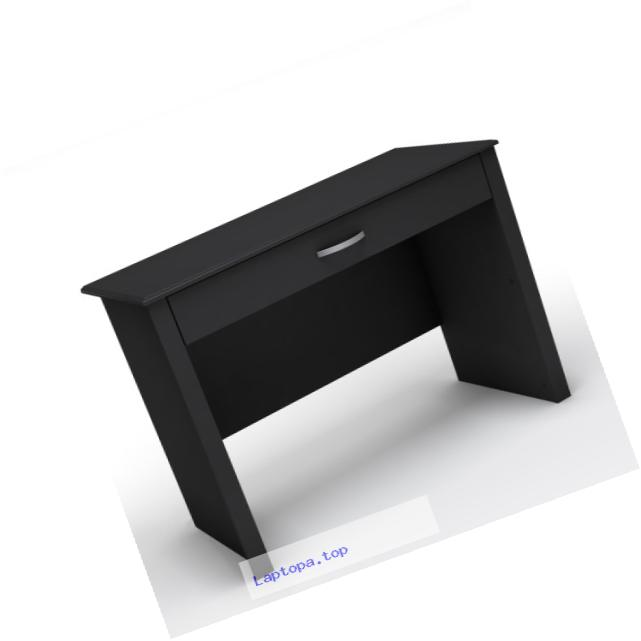 South Shore Work ID Collection Laptop Desk, Pure Black