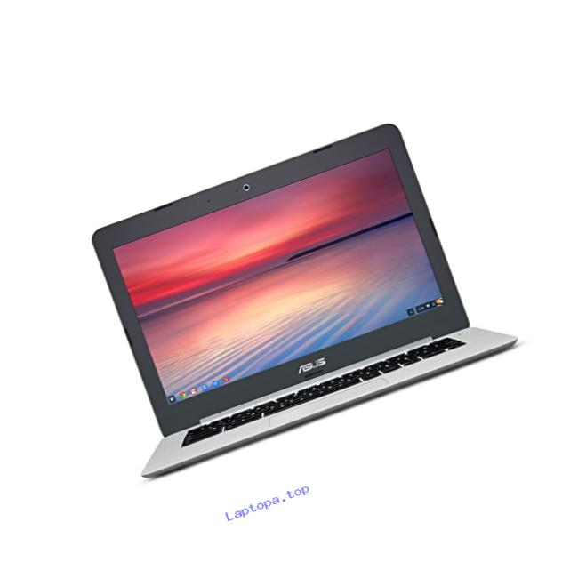 ASUS Chromebook C301SA 13.3 Inch (Intel Quad-Core Celeron, 4GB, 64GB eMMC, Metallic Grey)